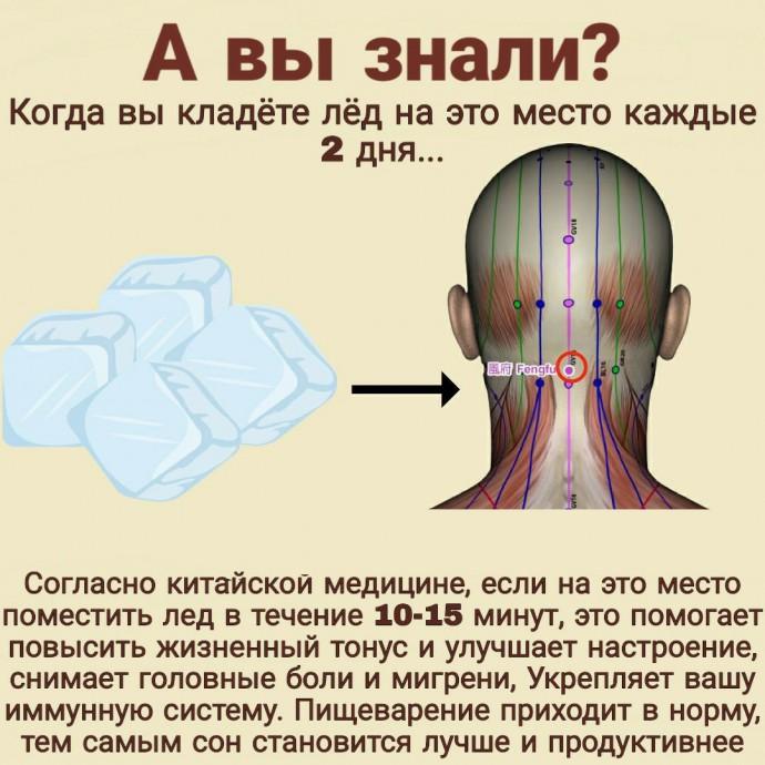Тайная точка, запускающая процесс оздоровления организма